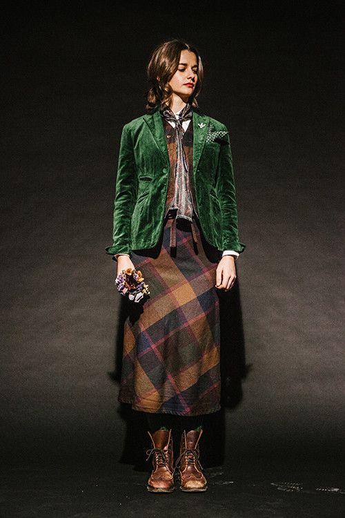 素朴でピュアな雰囲気。カントリーガールのファッションアイデア♡