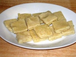 Badam (almond) Burfi is a healthy substitute for candy but is rich in flavor. Almond burfi can be served as dessert or snack.