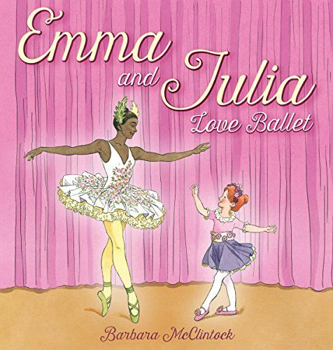 Emma is little. Julia is big. They both love ballet.  Emma takes ballet lessons. So does Julia. Emma is learning to be a ballerina. Julia is a professional ballerina.