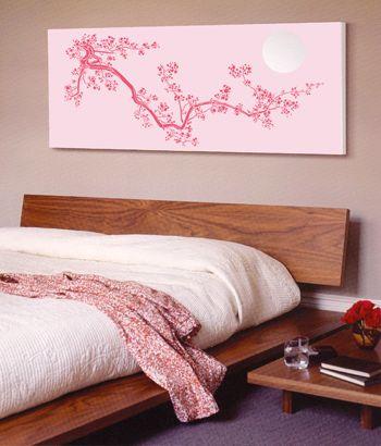 japanese cherry blossom wall art - Google Search