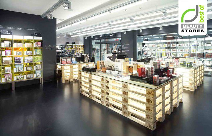 BEAUTY STORES! Korres Natural Greek cosmetics store, Prague store design - #retail
