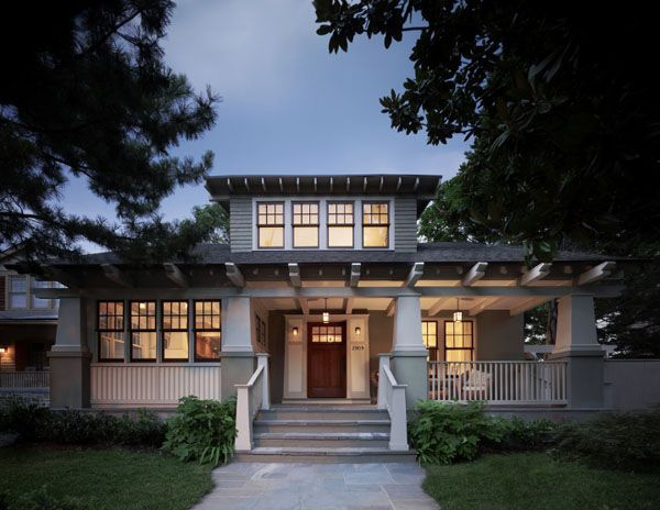 Should You Build A Single Or Double Level Home Craftsman ExteriorCraftsman Style HomesCraftsman BungalowsModern