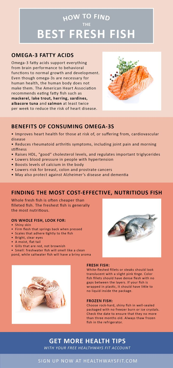 Freshwater fish health benefits - Healthy Fish How To Find The Best Fresh Fish