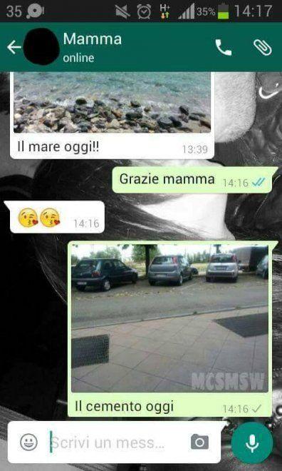 Che disastro i messaggi delle mamme su WhatsApp