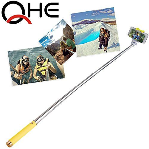 Selfie Stick, FlexionTM QuickSnap Pro 3-In-1 Self-portrait Monopod Extendable Wireless Bluetooth Selfie Stick with built-in Bluetooth Remote Shutter With Adjustable Phone Holder for iPhone 6, iPhone 6 Plus, iPhone 5 5s 5c, Android - http://topcellulardeals.com/?product=selfie-stick-flexiontm-quicksnap-pro-3-in-1-self-portrait-monopod-extendable-wireless-bluetooth-selfie-stick-with-built-in-bluetooth-remote-shutter-with-adjustable-phone-holder-for-iphone-6-iphone-6