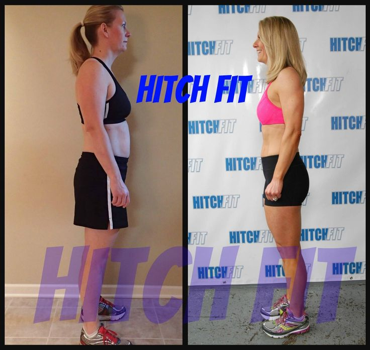 Hitch Fit Online Personal Training Client Tricia Got Her