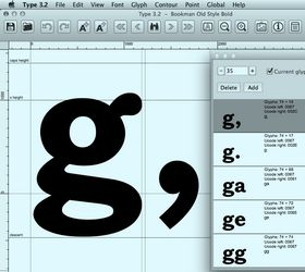 font editor software