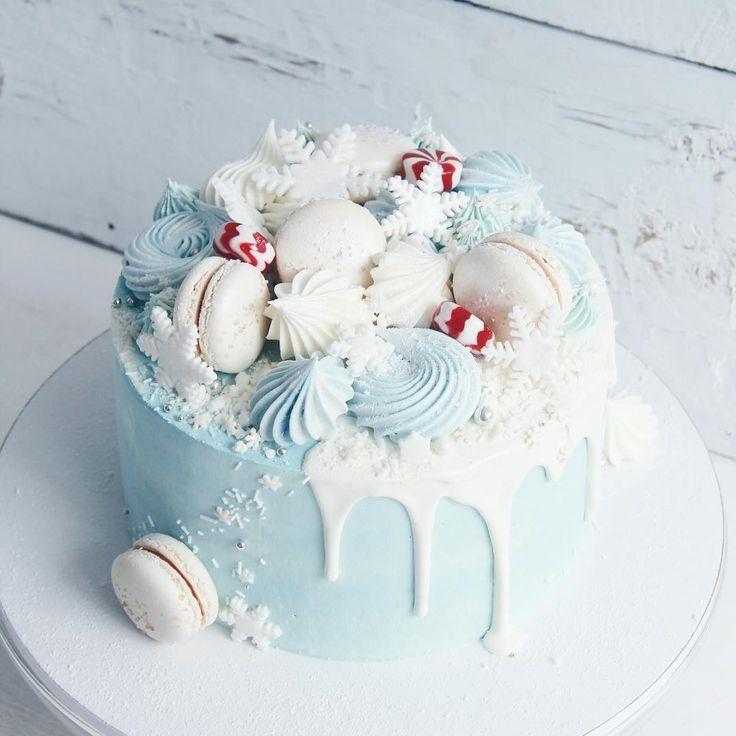 Зимний..❄️✨//#lavender_bakery #lavender_cake