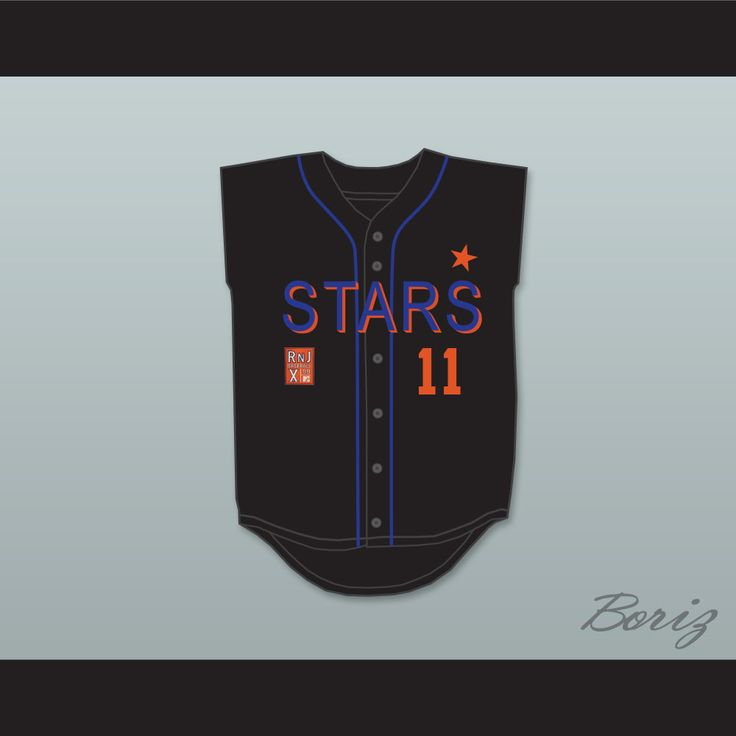 Jeremy London 11 Stars Softball Jersey 10th Annual Rock 'n Jock Softball Challenge 1999. STITCH SEWN GRAPHICS AND EMBROIDERED PATCH CUSTOM BACK NAME CUSTOM BACK NUMBER ALL SIZES AVAILABLE SHIPPING TIME 3-5 WEEKS WITH ONLINE TRACKING NUMBER Be sure to compare your measurements with a jersey that already fits you. Please consider ordering a larger size, if you prefer a loose fit.  HOW TO CALCULATE CHEST SIZE: Width of your Chest plus Width of your Back plus 4 to 6 inches to account for space…