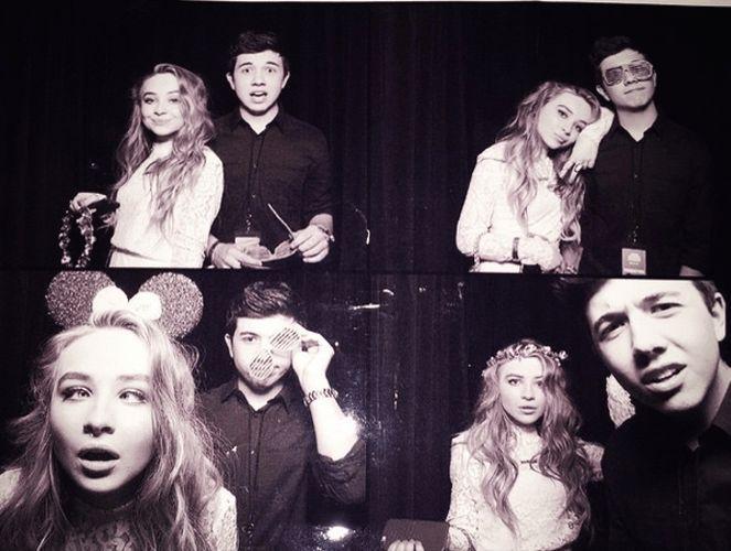 Bradley) *giggles* I have the best girlfriend in the world! I love you, Sabrina!!