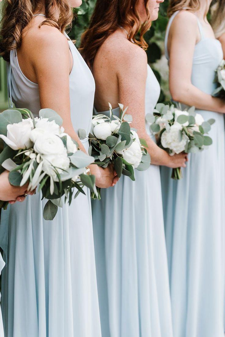 Wedding Reception At In 2020 Bridesmaid Bouquet White Wedding
