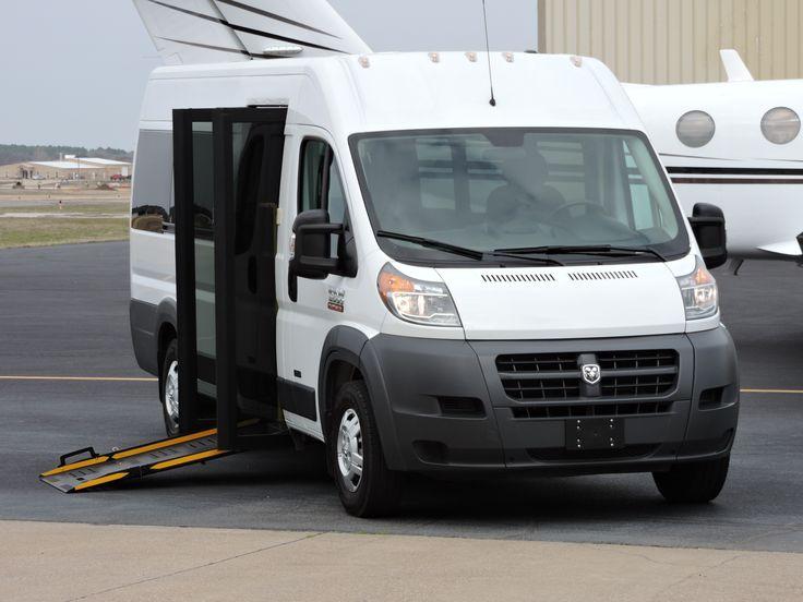 Handicap Ramp Bus Dodge Promaster 2015 – Lone Star Handicap Vans LLC