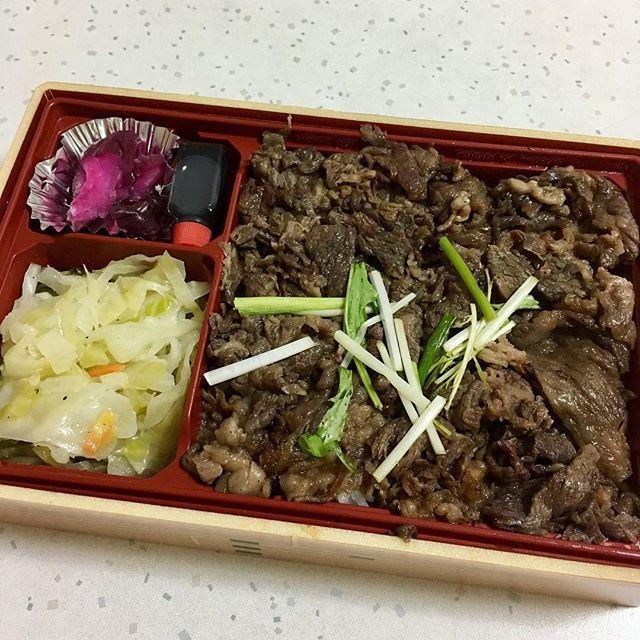今日の夜食は松阪のお弁当( ´ ▽ ` )❤️ #肉 #お弁当 #夜食 #名古屋レストラン #焼肉 #グルメ #おやつ #おいしい #松阪