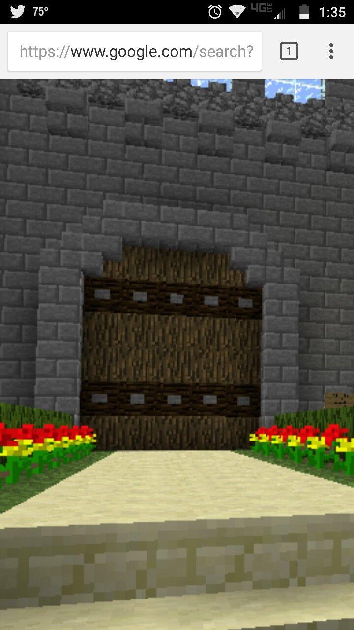 Door Gate Inspiration Minecraft Tutorial Minecraft