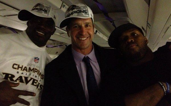 "Terrell Suggs Made John Harbaugh ""Bang His Hat"""