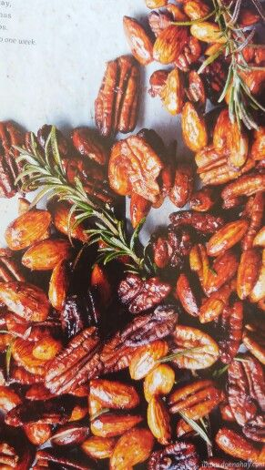 Whiskey and rosemary honey nut mix DH84 p51