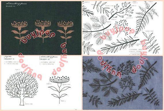 Edición China bordado japonés arte patrón libro Yumiko por buyjpop
