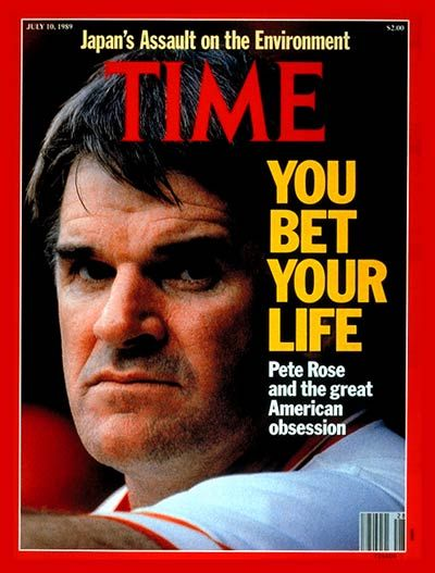 Pete Rose Is Banned From Baseball For Betting On Games. Hell, we have players out here doing a lot worse! He should be in the Hall Of Fame!
