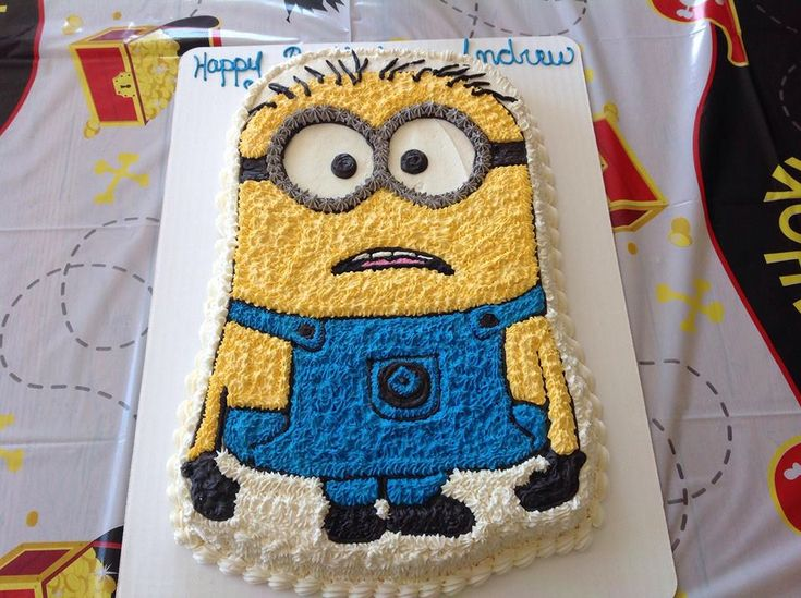 minion birthday cakes - The Cake Lovers minion lover ...