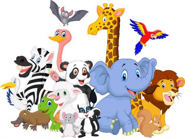 Cartoon Wild Animals Background Wild Animals Photography Cute Wild Animals Animals Wild