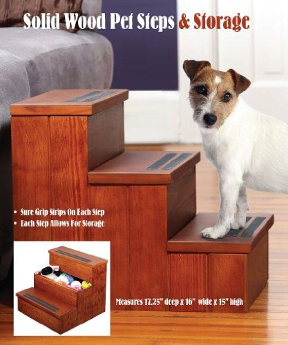 I just used this last weekend  Etna Pet Store Solid Wood Steps follow this link click here http://bridgerguide.com/etna-pet-store-solid-wood-steps/ for much more detail about it. Thanks and please repin if you like it. :)