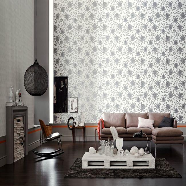 Schoner Wohnen 5, floral design. Wallpapershop.com.au