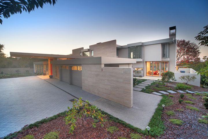 New House, driveway