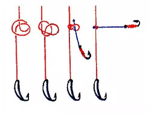 Снасть паровоз для зимней рыбалки схема монтажа