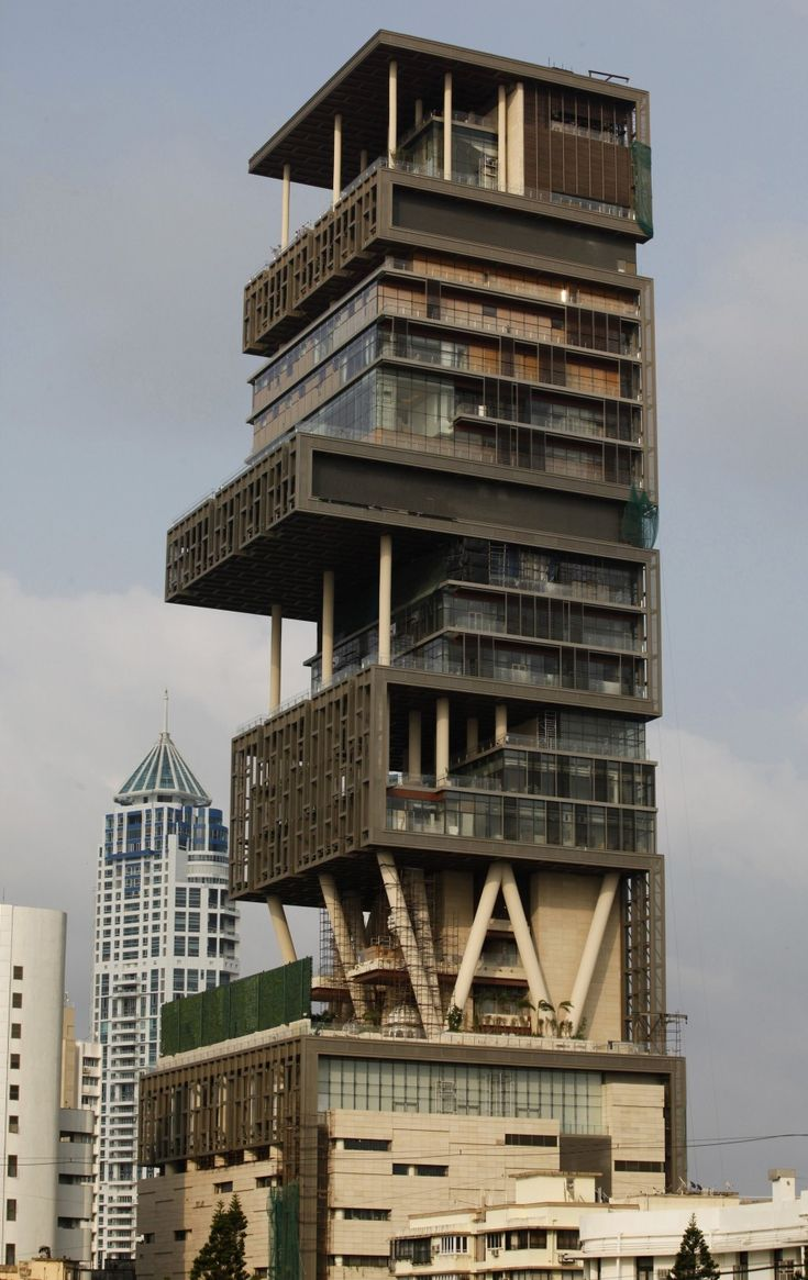 The most expensive house in the world is owned by Billionaire Mukesh Ambani of India.
