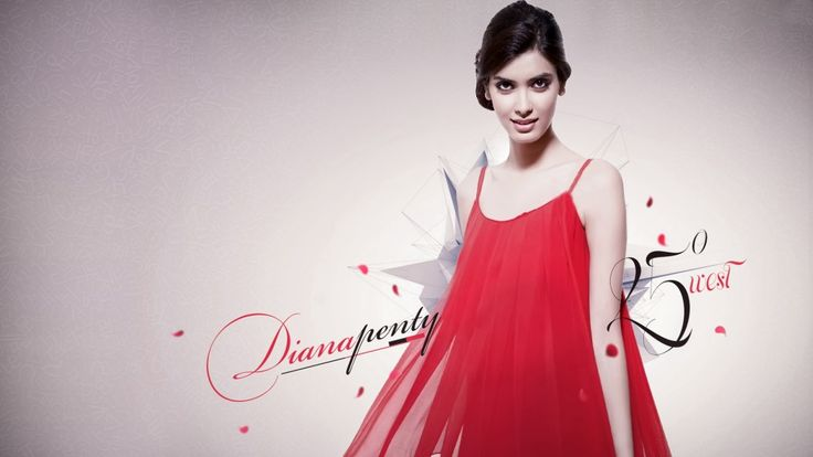 Awesome Diana Penty Photoshoot in Red Dress