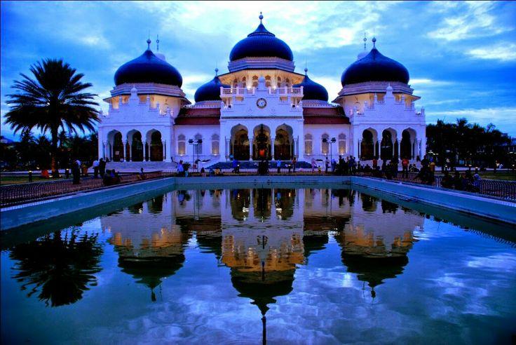 Masjid Baiturrahman Banda Aceh, Indonesia