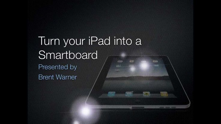 Turn Your iPad into a Smartboard (without an Apple TV) - Reflector Tutorial