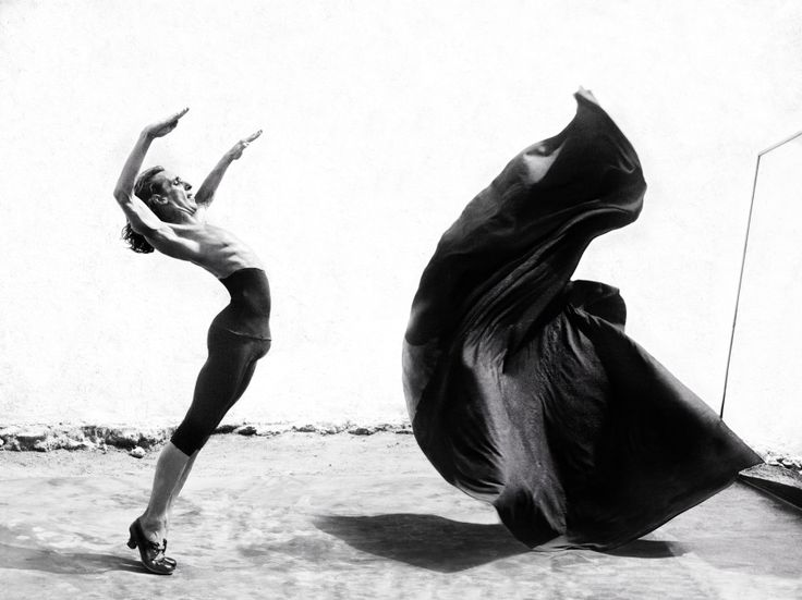 "In this series ""Ángel Gitano"" photographer Ruven Afanador documents male Flamenco dancers taking the roles that are primarily seen depicted as female. These black and white images are amazing and showcases the amazing capabilities of these men to capture the gracefulness that are usually seen performed by women."