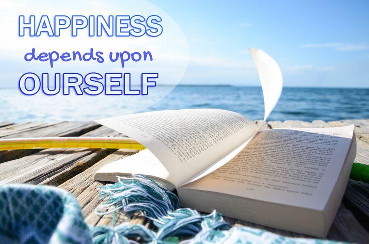 Happiness depends upon ourself http://janadyskantova.cz/portfolio/experiment30/