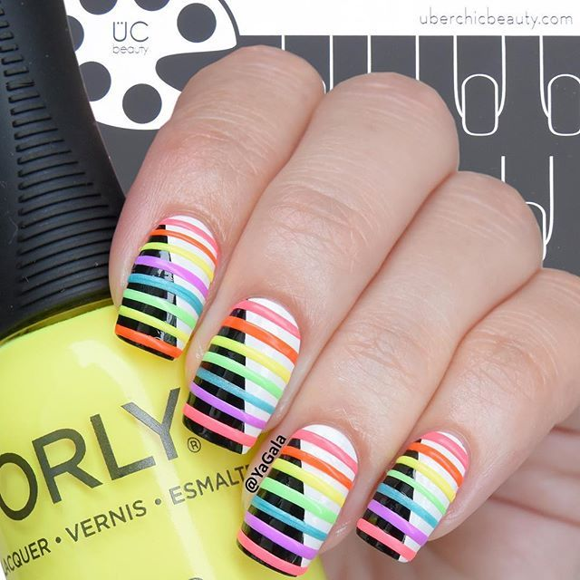 293 best Rainbow Nails images on Pinterest | Rainbow nails, Nail ...