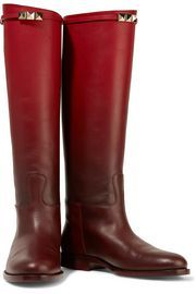 Rockstud ombré leather boot   VALENTINO   Sale up to 70% off   THE OUTNET