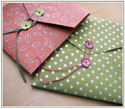 diy #envelopes... make your own envelopes for mailing