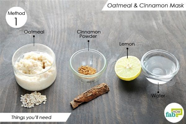 Things You Ll Need To Make Oatmeal Face Mask For Acne Face Acne Oatmeal Face Mask Face Mask Diy Acne