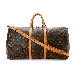Louis Vuitton Keepall 55 Bandouliere Travel Bag - Vintage
