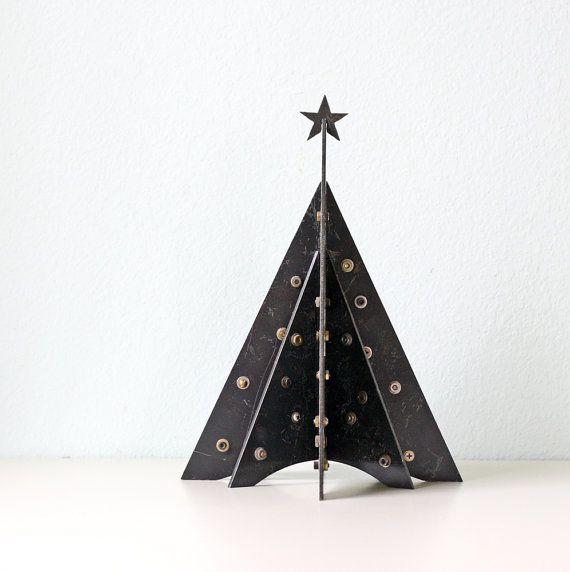 Vintage Metal Christmas Tree by bellalulu on Etsy