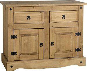 Corona 2-Door 2-Drawer Sideboard: Amazon.co.uk: Kitchen & Home