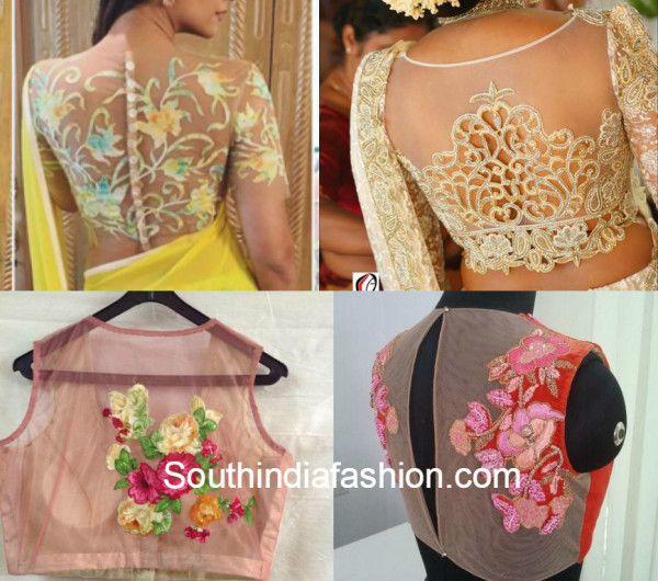 402 best images about saree blouse designs on pinterest