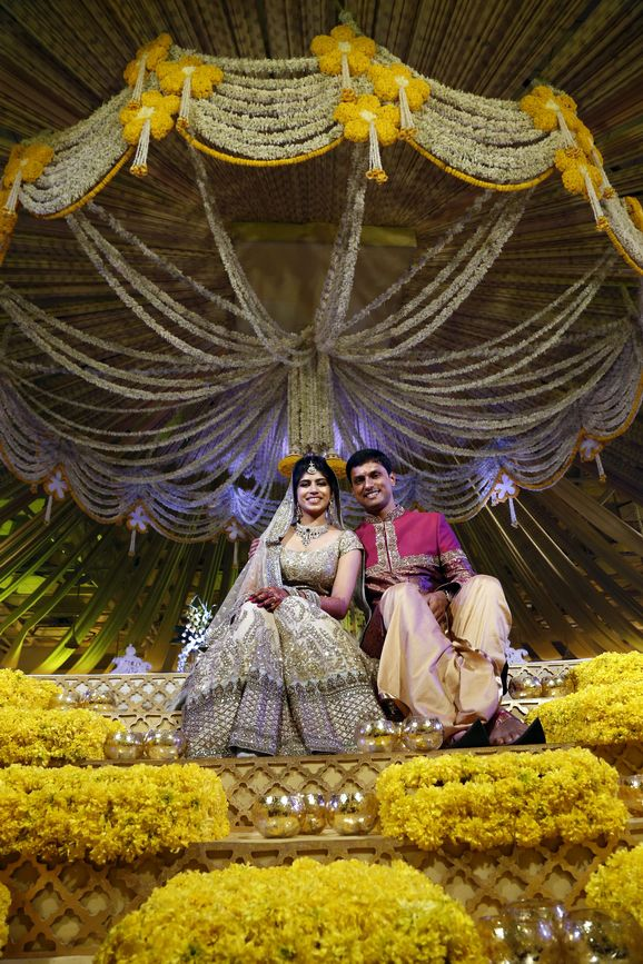 An Elegant Telegu Wedding in Hyderabad : Ravi and Sindhura!