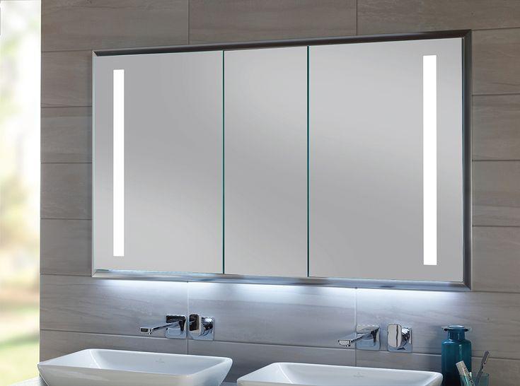 Die besten 25+ Badezimmerspiegel Ideen auf Pinterest einfache - steckdosen badezimmer waschbecken