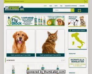 Petformance E-commerce : screenshot