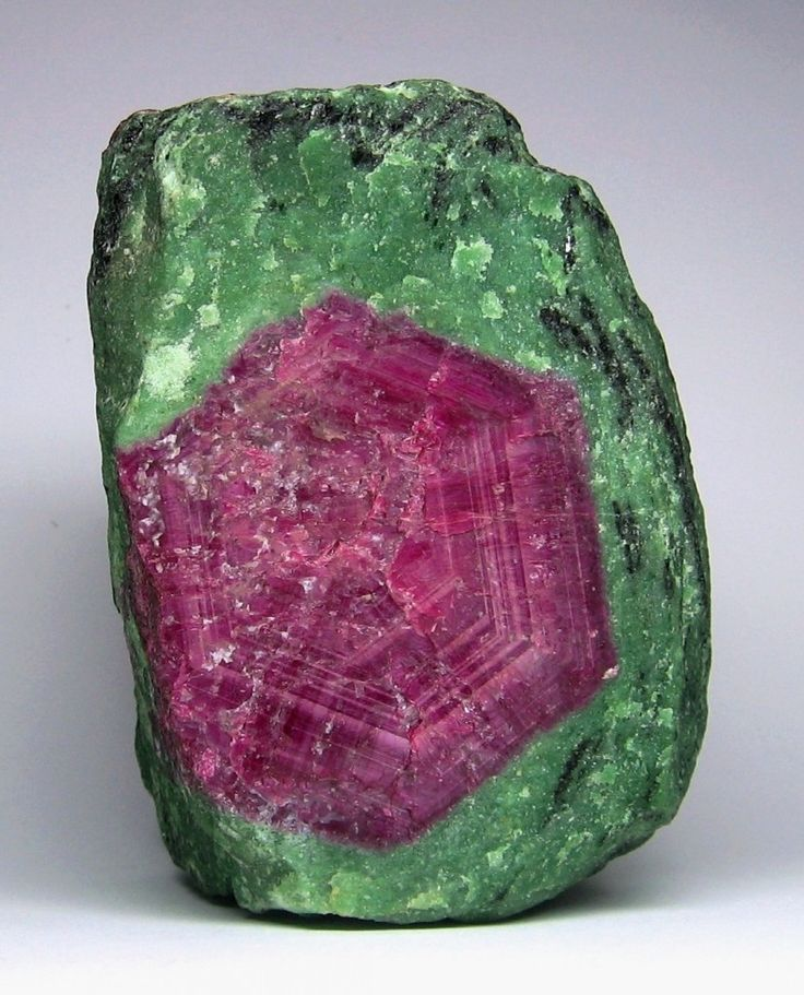 Ruby And Zoisite From Pargasite Mundarara Mine Arusha