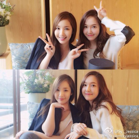 Park MinYoung #박민영 & Jessica Jung SooYeon