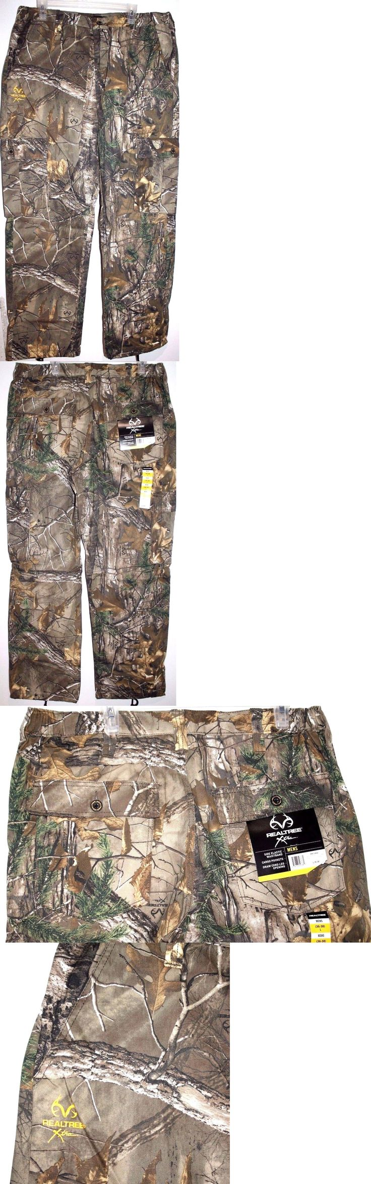 Pants and Bibs 177873: Realtree Xtra Cargo Pants Men Camo Pant Sizes Variation -> BUY IT NOW ONLY: $34.99 on eBay!