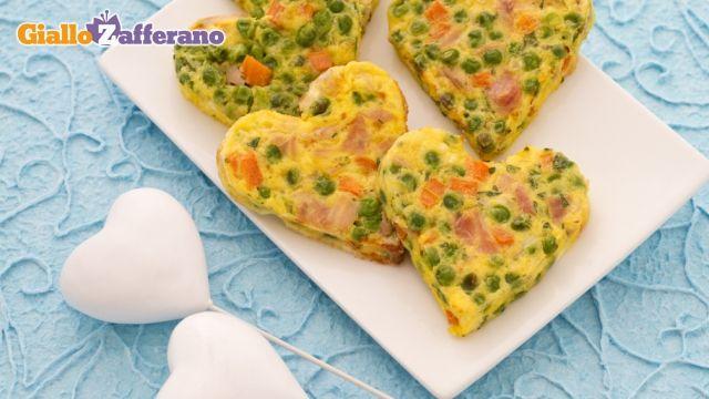 Frittatine allegre - happy small #omelette #Pasqua #Pasquetta