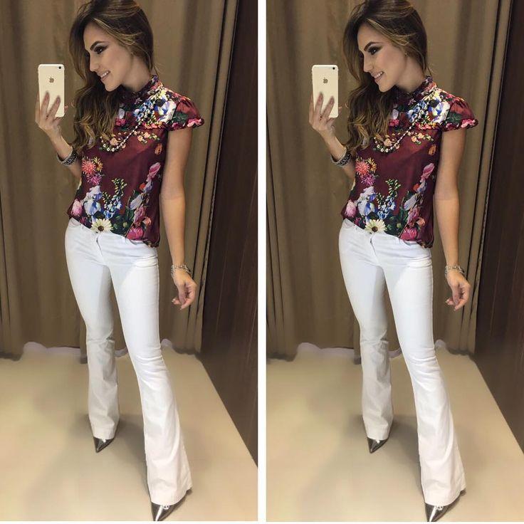 """3,131 curtidas, 28 comentários - Estação Store (@estacaostore) no Instagram: """"Blusa Kassia Marsala - Calça Jeans Rillary Disponível para #Atacado e #Varejo - Seja uma…"""""""